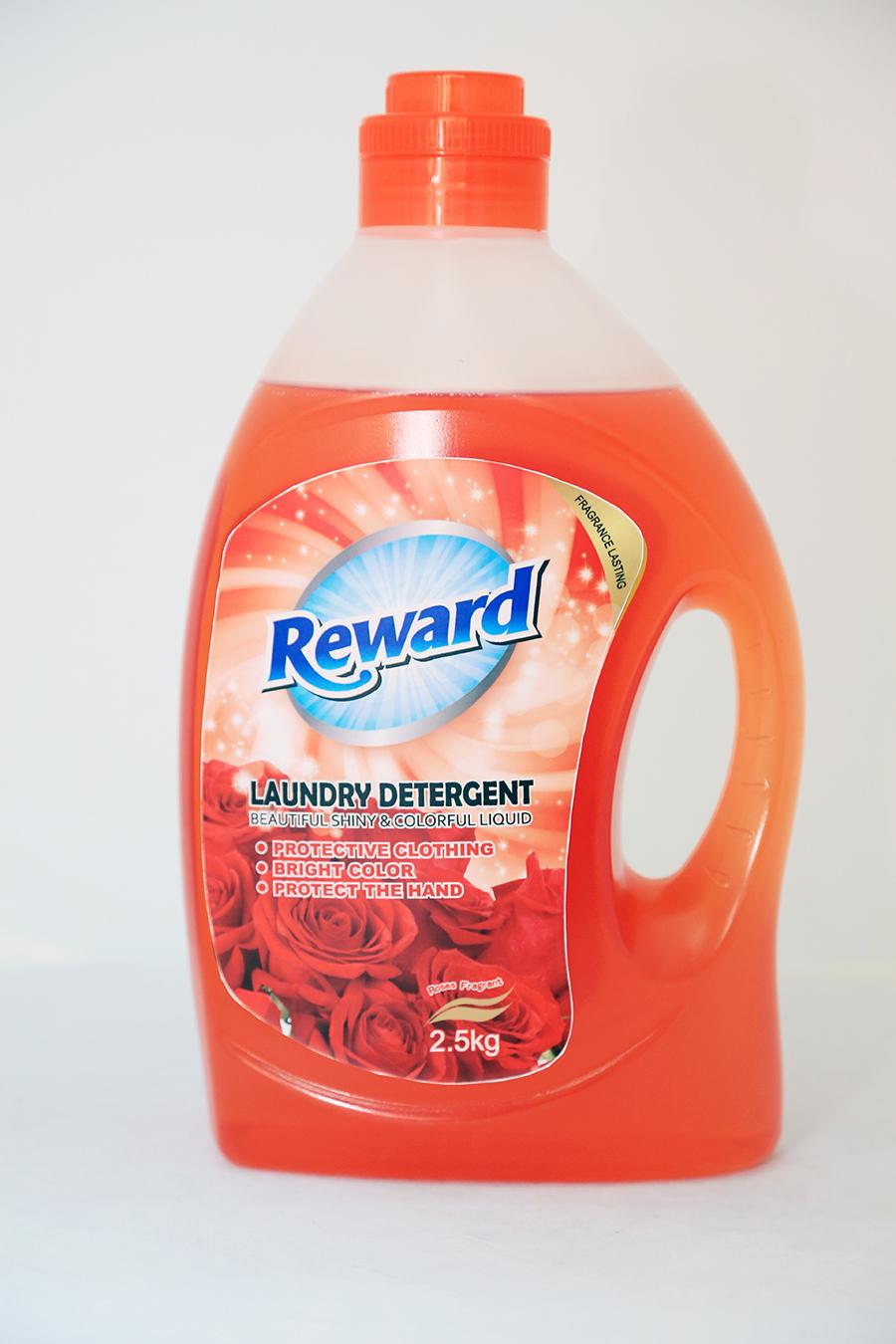 china factory OEM bottled liquid laundry detergent