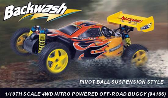Sell 1:10th Scale 4WD Nitro Gas Powered Off-road Buggy-Pivot Ball Suspension
