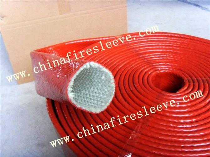 heat resistant fire sleeve