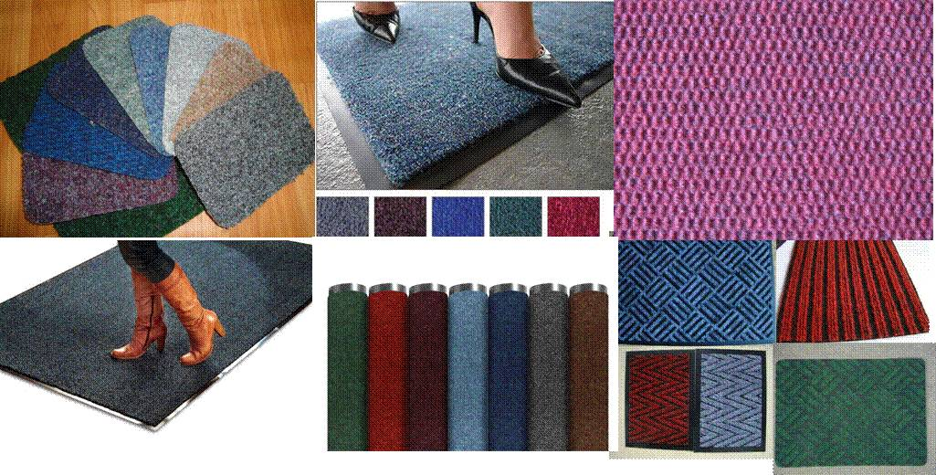 Needle punch Carpet Entrance Mat & Runner & Rolls-Soft & Hard Stripe 1/2/3/5/7 ribbed design