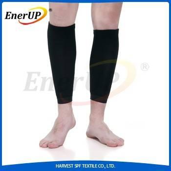 copper compression shin support calf sleeves