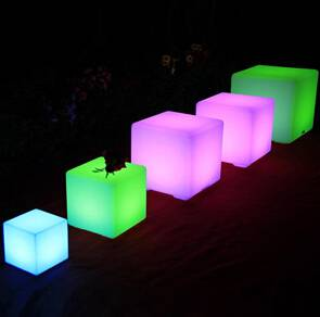 LED Furniture LED cube