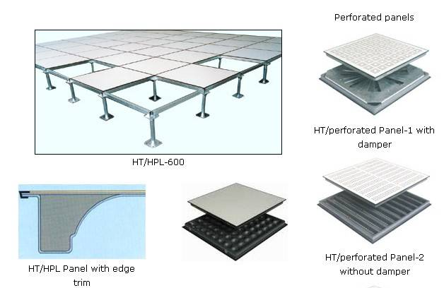 Hpl raised floor panels pvc raised floor panels for Floor y raise