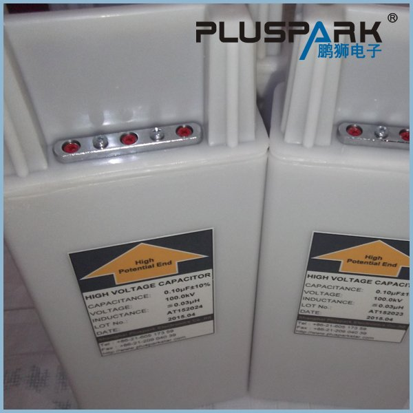 High Voltage Capacitor 80kV 0.1uF 100nF