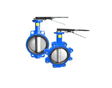 DN50-DN1200 wafer /lug butterfly valve