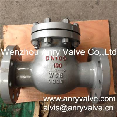 DIN swing check valve