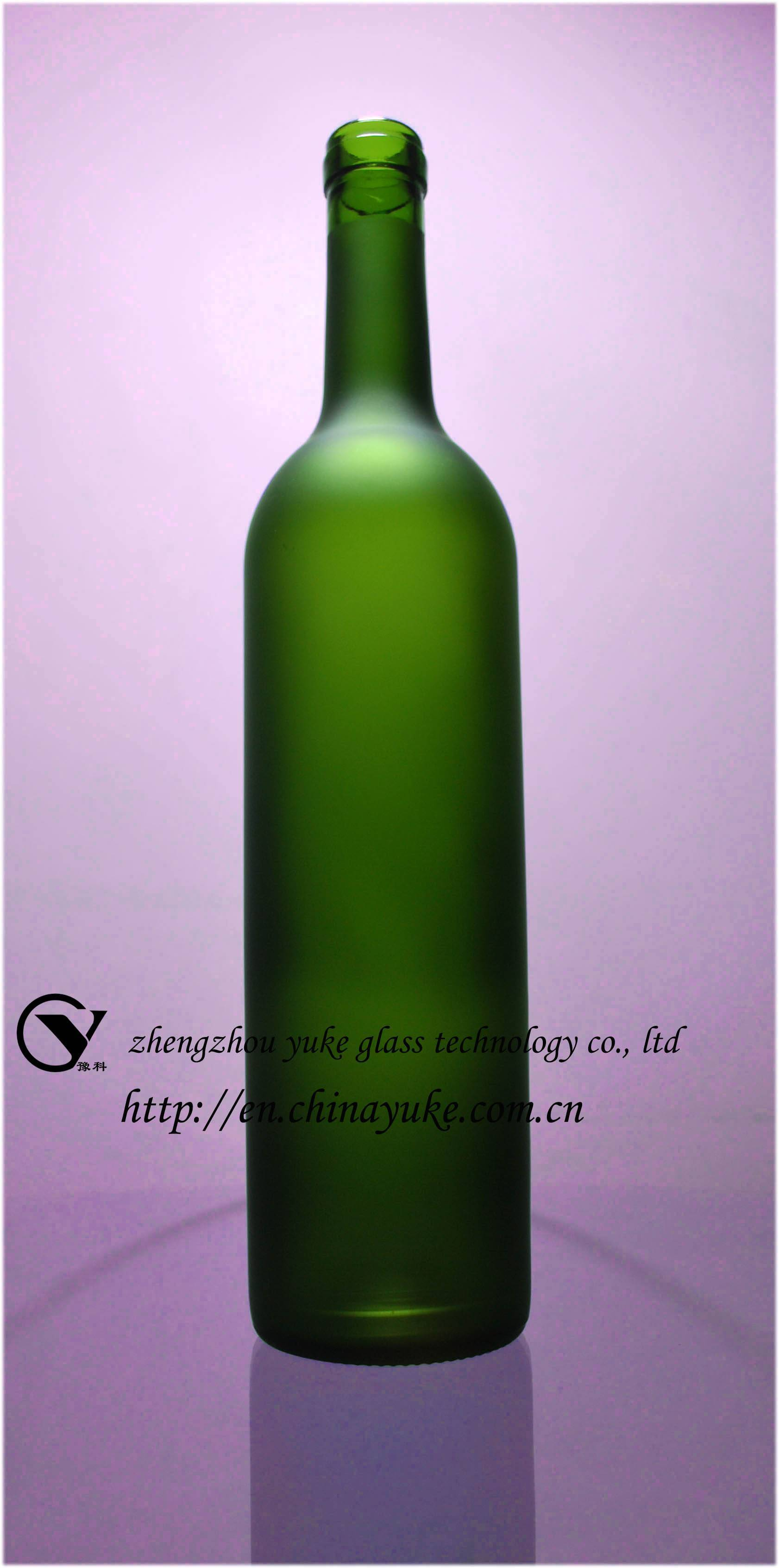 Grape Wine-bottle Glass Frosting Powder
