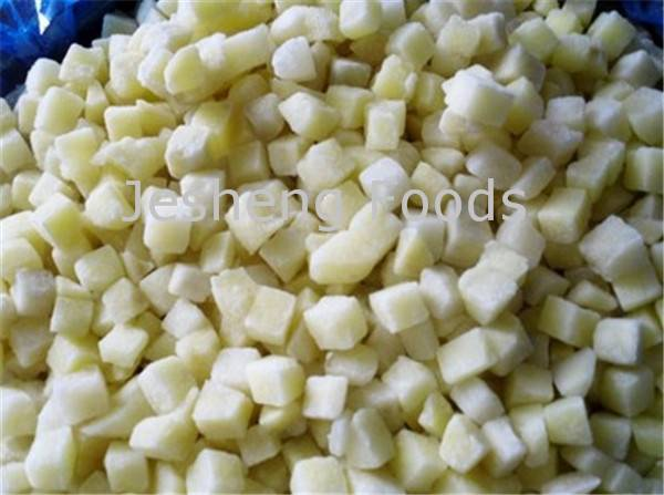 Selling IQF Potato Dice/ Strips /Slice/ Cuts