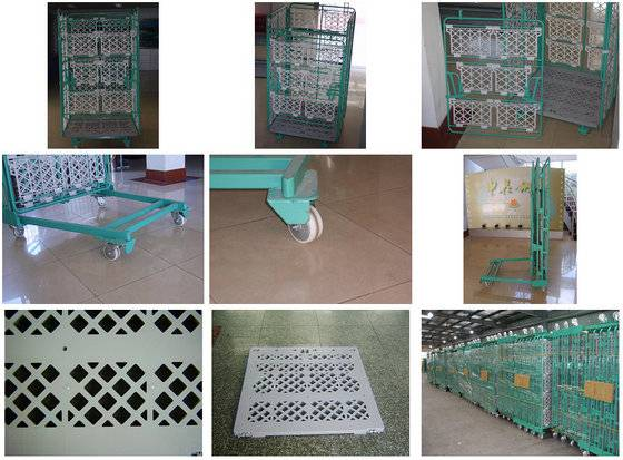 Logistic Cart, Hand Truck and Trolley, Warehouse,Store and Supermarket Shopping, Hotel