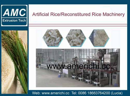 Artifical rice machines
