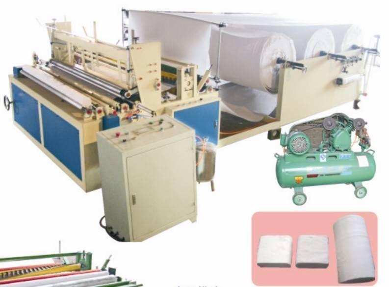 Toilet Roll Machine/Toilet Paper Machine/Toilet Paper Rewinding Machine/Rewinder