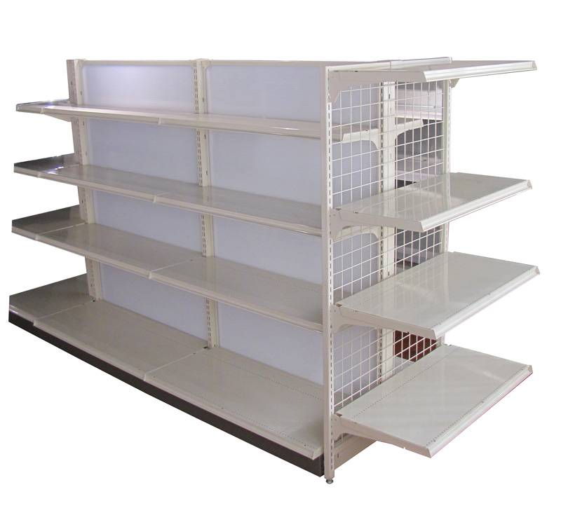 Shelving with schaeff panel