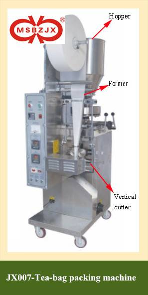 JX007-Automatic Tea-bag Packaging Machinery with thread