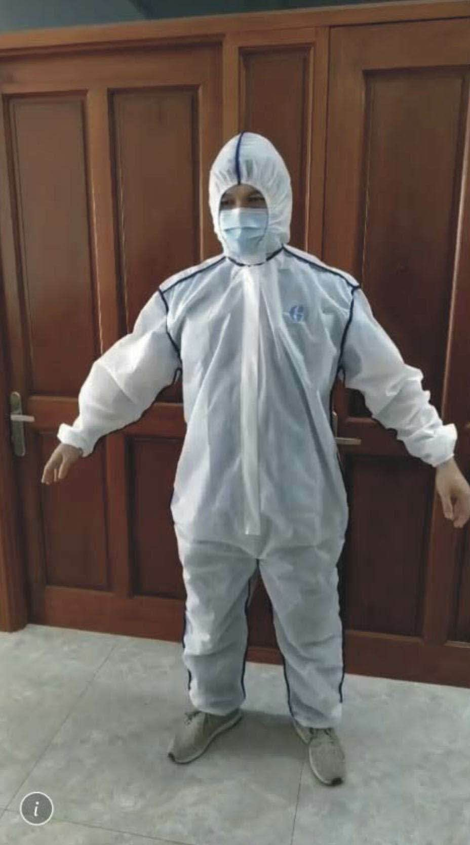 PPE MEDICAL SUIT COVERALL