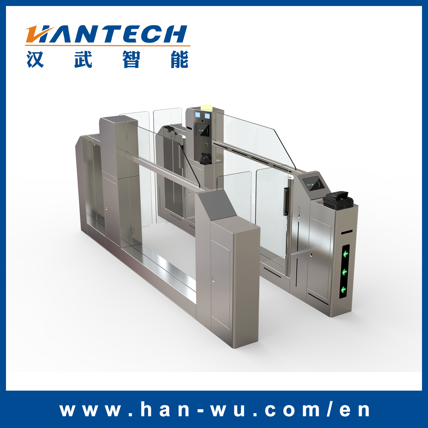 Pedestrian Turnstiles for Airport Security