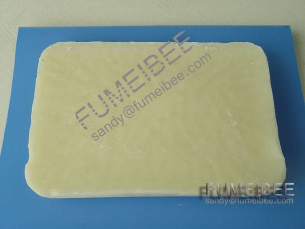 white refined bees wax slab for medical industry