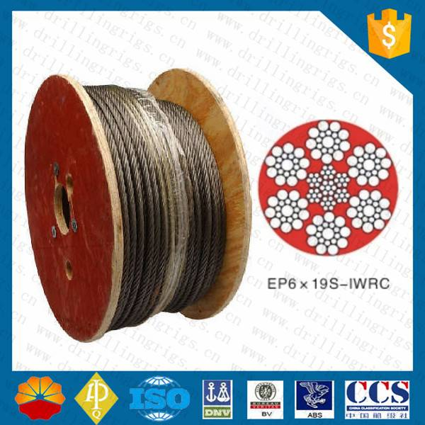 1 3/8in PVC coated wire rope