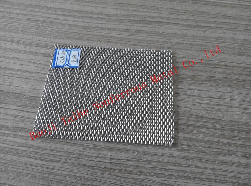 titanium anode mesh for puring swimming pool