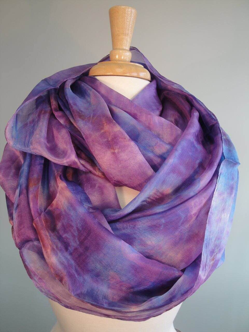 Supply silk scarves