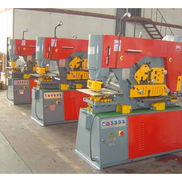 Q35Y-20 Hydraulic Iron Worker(Punching and Shearing machine)