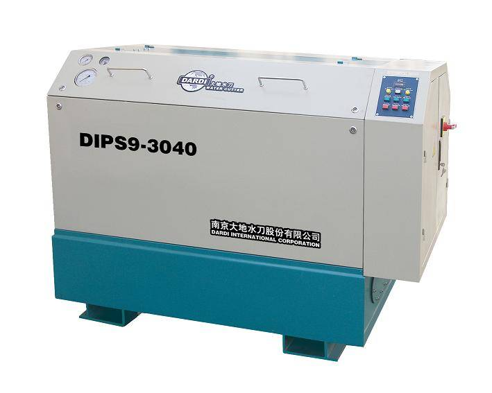 Waterjet Cutting System---Uhp System Dardi (Model: DIPS9-3040)