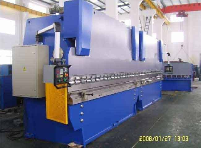 500Tons sheet steel Hydraulic press brake