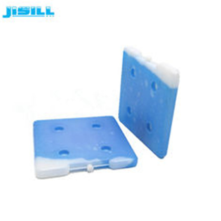 High quality square shape 26262.5 cm HDPE hard plastic reusable ice brick gel ice packs in cooler