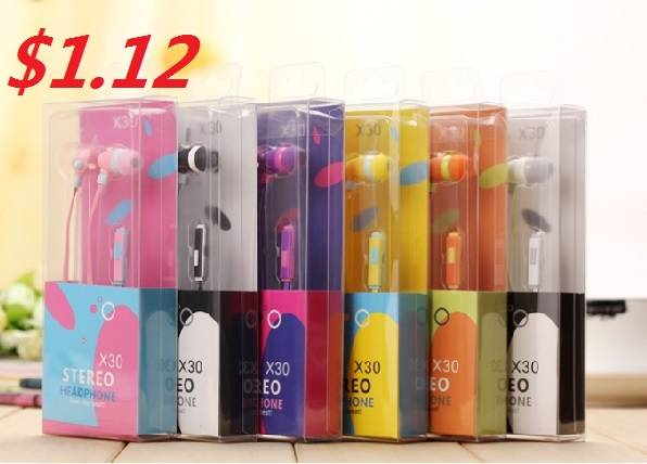 3.5MM Cartoon Mobile Phone Earphone with Microphone