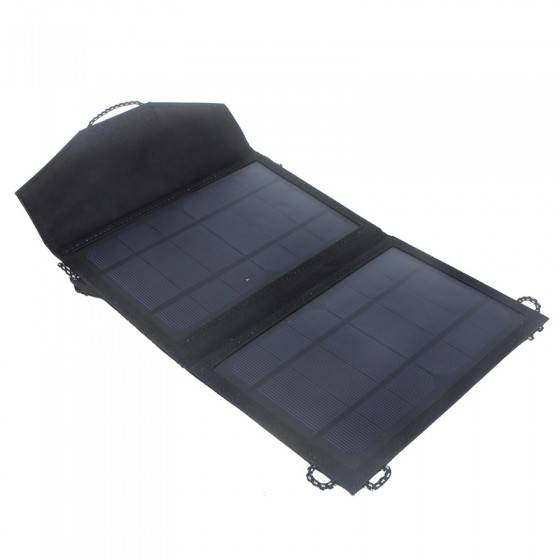 10W folding portable solar panel charger bag for cell phone charge