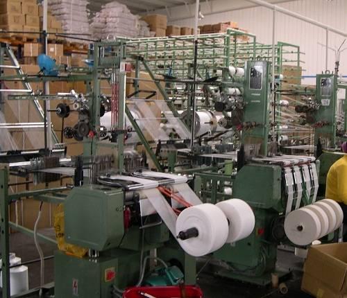 Crepe bandage weaving machine / elastic bandage weaving machine / medical bandage loom