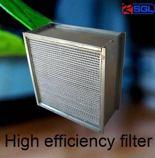 fiberglass hepa box filter