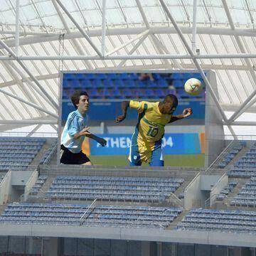 Stadium LED Video Screen/scoreboard with Special Display Feature and 110° Viewing Angle