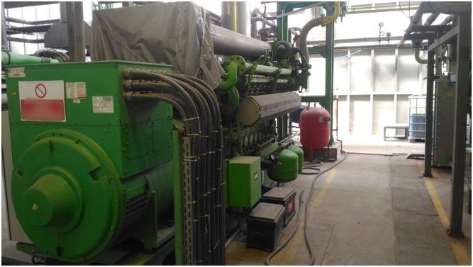 5 MW Jenbacher JMS 620 Cogeneration Plant