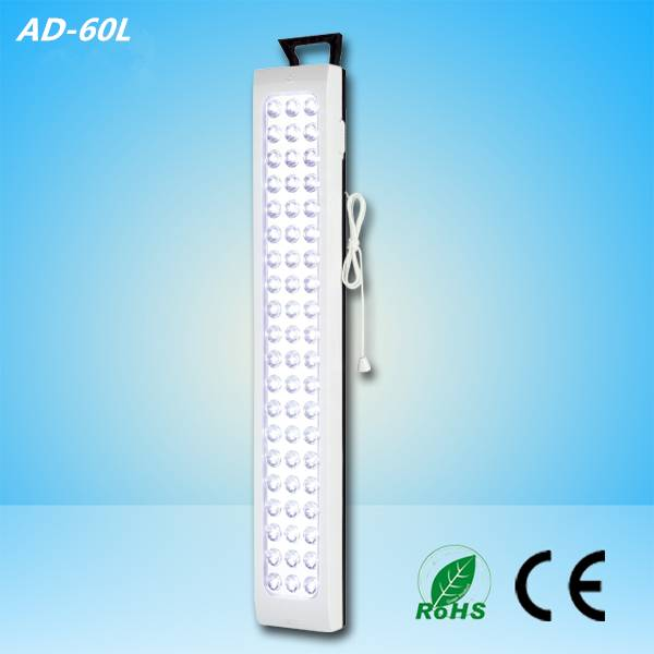 60 pcs led home rechargeable emergency light