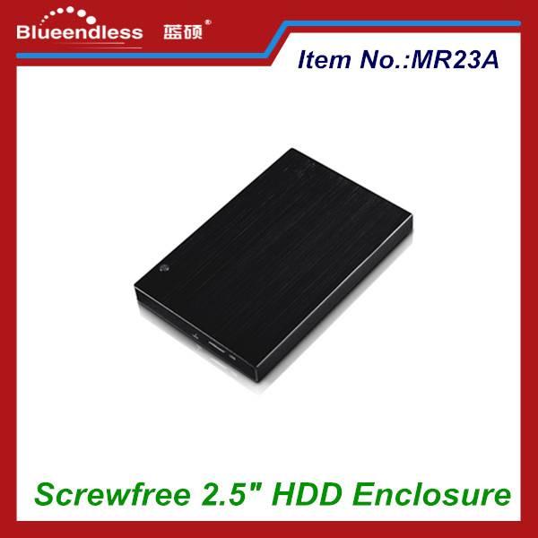 2.5 Inch USB 3.0 to SATA Screwless Design Hard Drive Enclosure