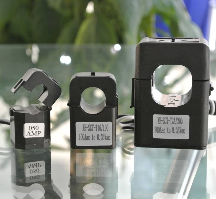 Split Core Clamp on Current Sensor Transformer