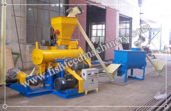 Fish Feed Production Line 1.2 T/H