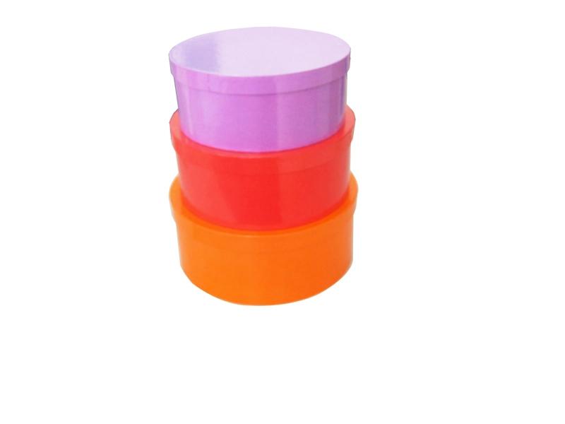 round gift box