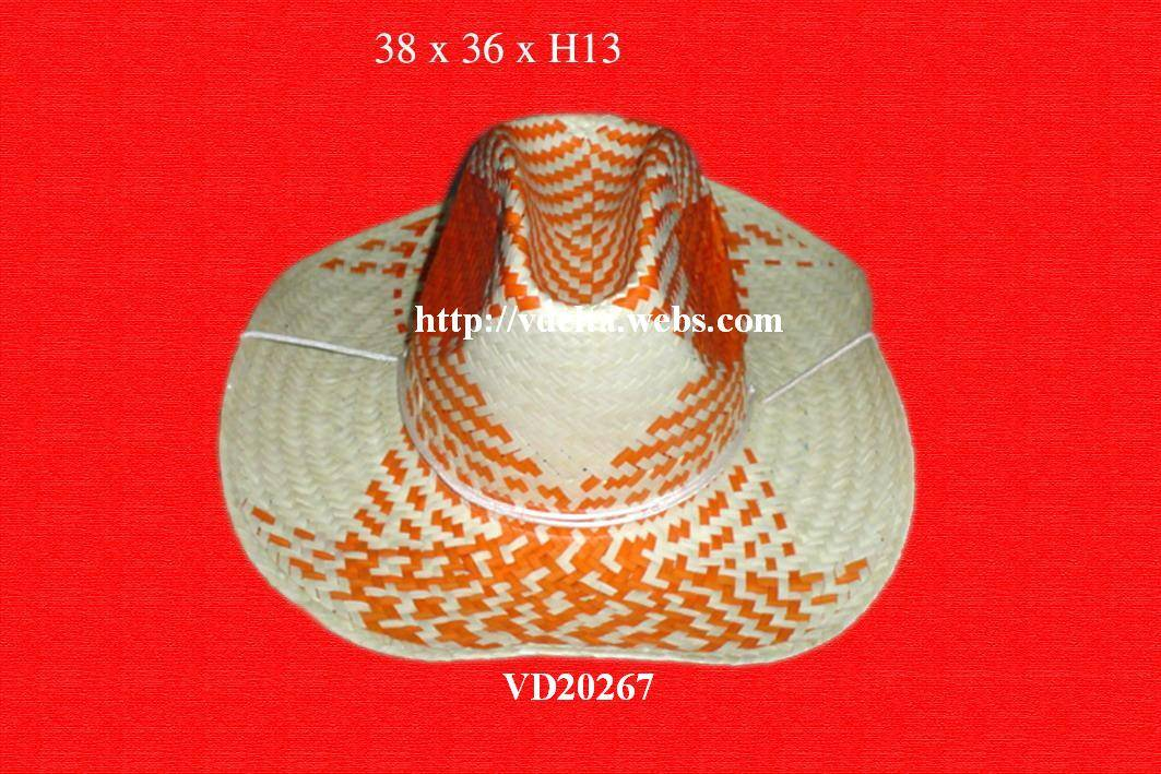 Promotion straw hat