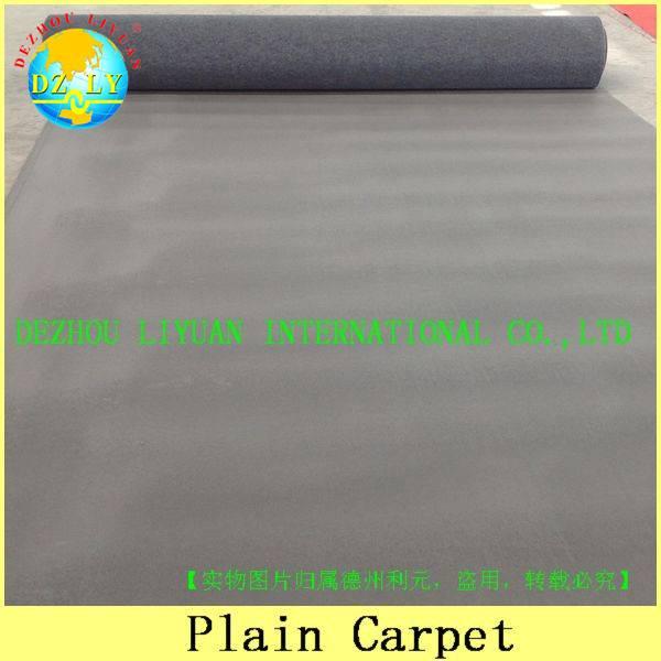 100% polyester wearproof exhibition carpet