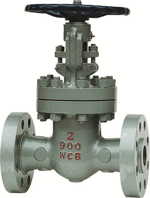 Api cast steel wedge gate valve
