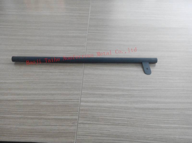 Ir coating titanium anode pipe