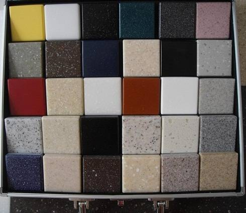 China factory supply solid surface sheet artificial marble stone price