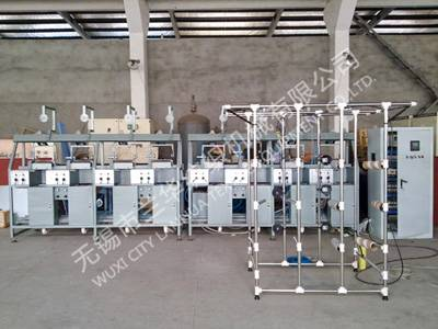 BCF tangle machine