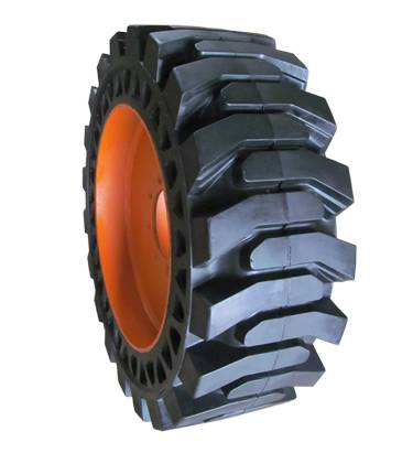 ANair Auxiliary Plate Solid Tire 33x6x11, for Loader and other industrial