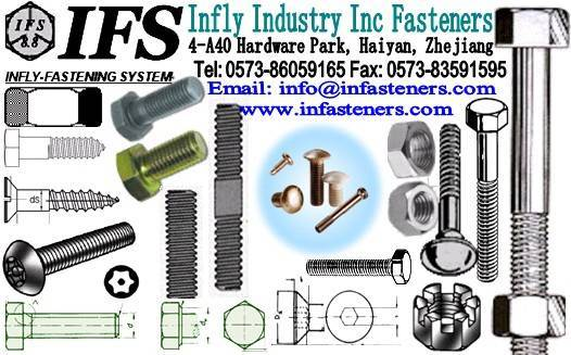 Wood bolts DIN571 Carriage Bolts DIN603 Hex Bolts DIN931 DIN933 Tapping screw Machine screw DIN912