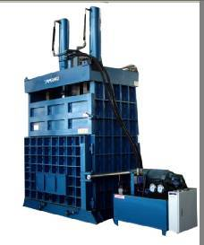 Tire Baler Machine