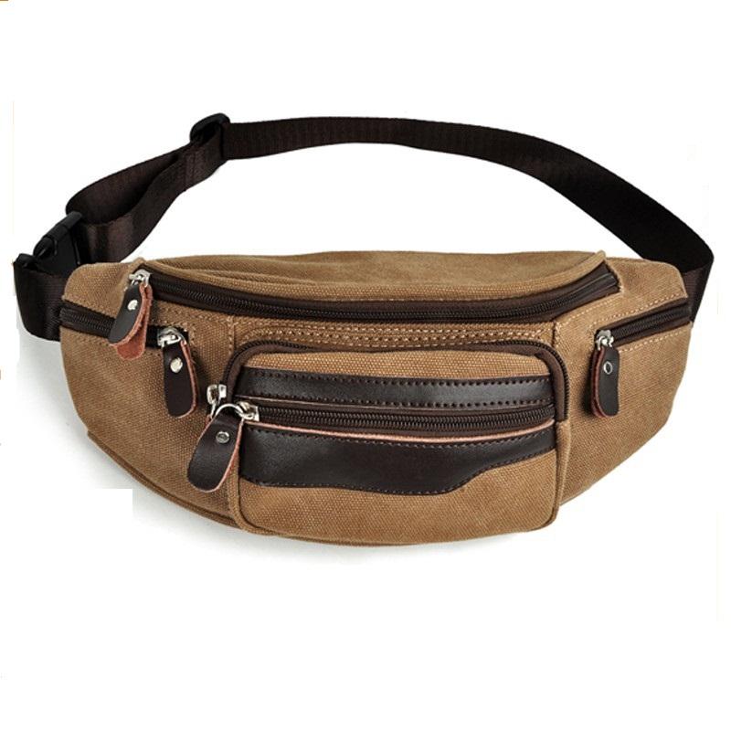 waist bag anti-theft waist bag nylon waist bag
