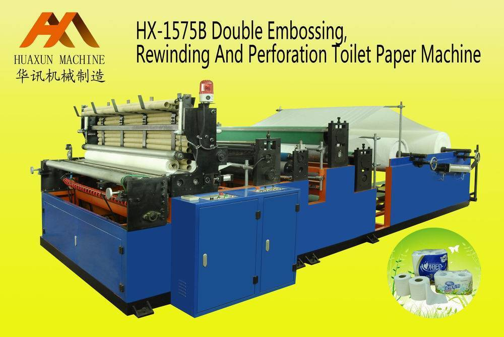 Sell HX-1575B Rewinding & Perforating Toilet Paper Machine