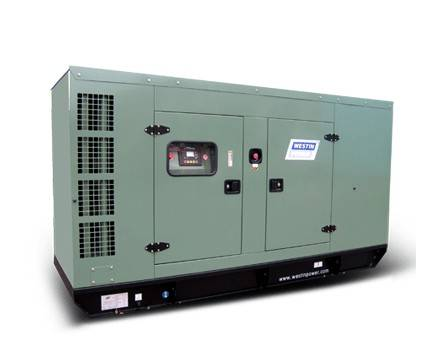 Diesel generating set TP200 silent type